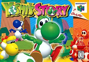Yoshi's Story - North American cover art