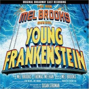 Young Frankenstein (musical) - Original Broadway Cast Album cover