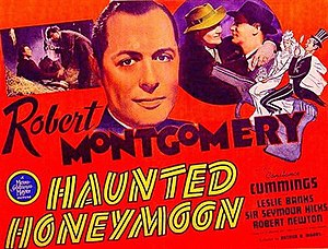 Busman's Honeymoon (film) - American theatrical release lobby card (Note: U.S. release title)