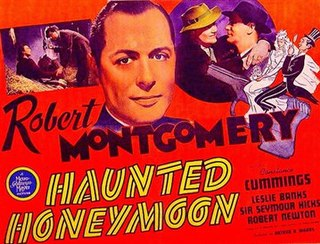 <i>Busmans Honeymoon</i> (film) 1940 British detective film directed by Arthur B. Woods