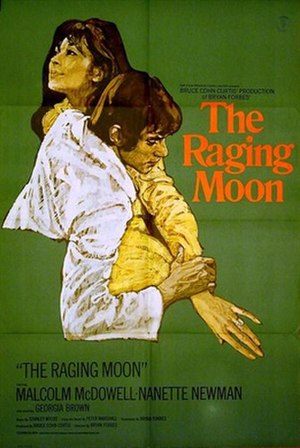 The Raging Moon - British 1-sheet poster by Arnaldo Putzu