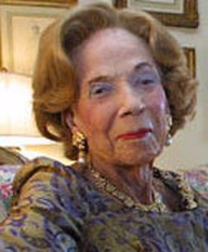 Brooke Astor - Brooke Astor in 2002 in her duplex
