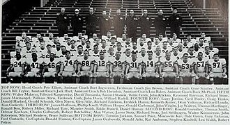 1965 Illinois Fighting Illini football team - Image: 1965 Illinois Fighting Illini football team