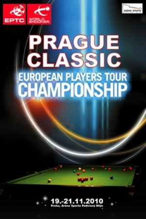 Euro Players Tour Championship 2010/2011 – Event 6 - Image: 2010 Prague Classic poster
