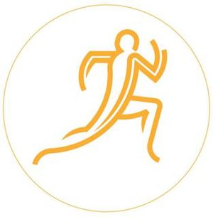Athletics at the 2014 Commonwealth Games - Image: 2014 Commonwealth Games Athletics Event Logo
