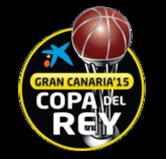 2015 Copa del Rey de Baloncesto - Image: 2015 Copa del Rey de Baloncesto