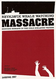 <i>Reykjavik Whale Watching Massacre</i> 2009 film by Júlíus Kemp