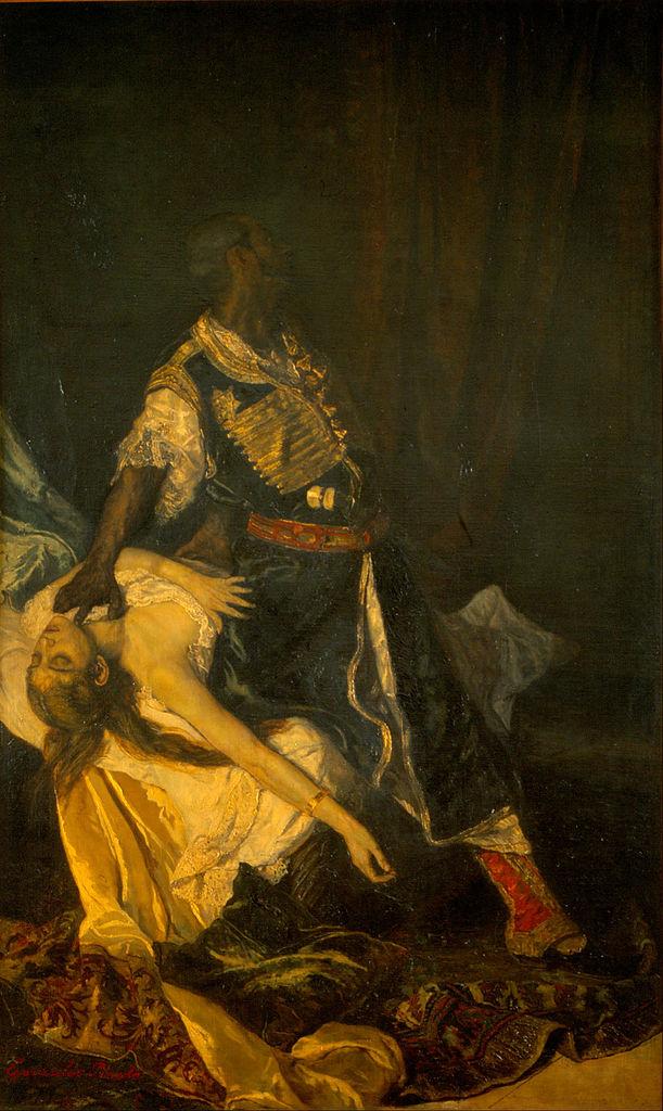 Gonz  225 lez Pineda - Othello Killing Desdemona - Google Art Project jpgOthello And Desdemona Art