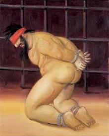 Fernando Botero  Abu Ghraib  2005  oil on canvas  Botero painted the    Fernando Botero Abu Ghraib