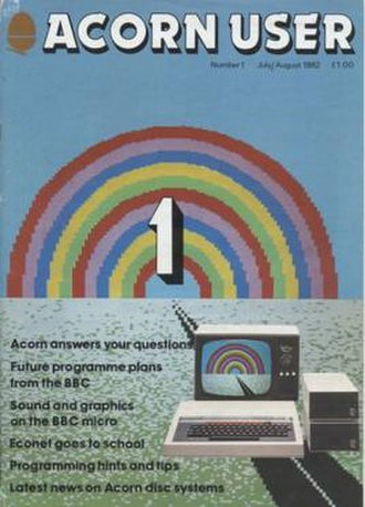 Acorn User - First issue cover