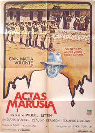 Letters from Marusia - Mexican Poster