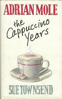 <i>Adrian Mole: The Cappuccino Years</i> 1999 Book by Sue Townsend