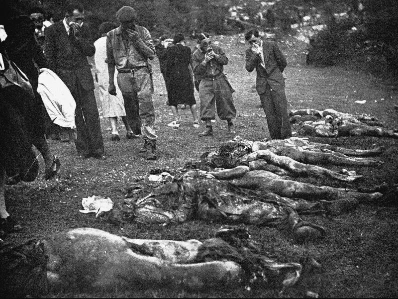 Aftermath of a massacre (Labin, December 194)