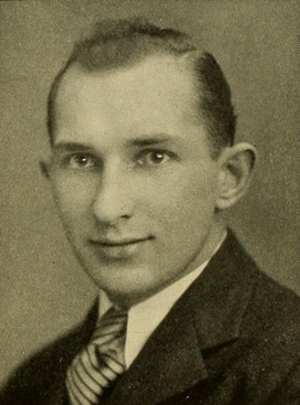 Al Weston - Weston pictured in Sub Turri 1929, Boston College yearbook