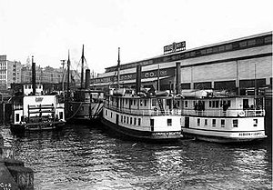 Albion, Olympic, Rapid Transit at Galbraith Dock 1904.jpeg