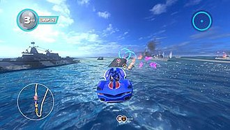 Sonic & All-Stars Racing Transformed - Image: All Stars Racing Transformed Gameplay