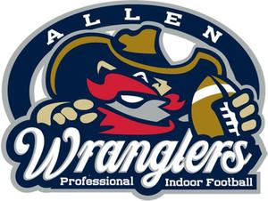 2011 Allen Wranglers season - Image: Allen Wranglers IFL team logo