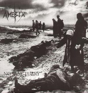 <i>No Sanctuary</i> (EP) 1983 extended play by Amebix