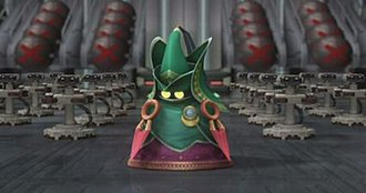 Super Smash Bros. Brawl - Original characters were created for the story mode. Pictured is the Ancient Minister, who starts as an antagonist but later becomes the playable fighter R.O.B.