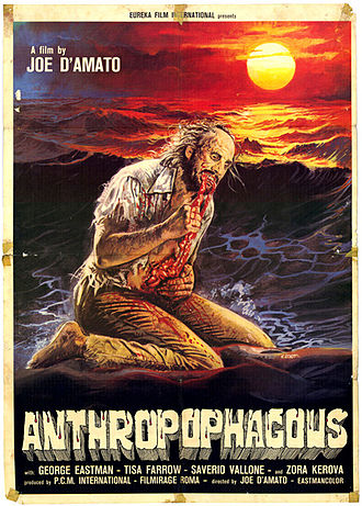 Antropophagus - Theatrical release poster
