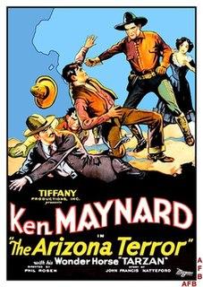<i>Arizona Terror</i> 1931 film