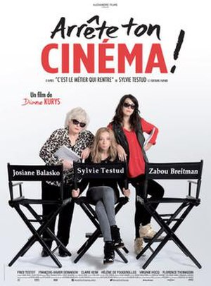 Arrête ton cinéma - Theatrical release poster