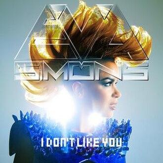 Eva Simons - I Don't Like You (studio acapella)