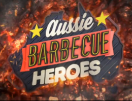 Title card of Aussie Barbecue Heroes