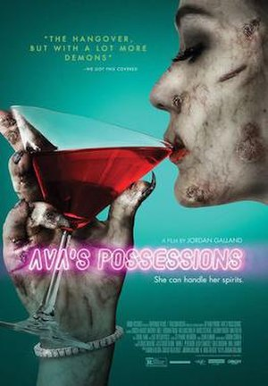 Ava's Possessions - Theatrical poster