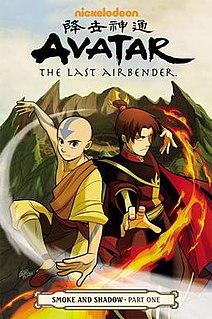 <i>Avatar: The Last Airbender – Smoke and Shadow</i> Fourth in theAirbender triliog
