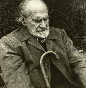 Basil Bunting - Basil Bunting, in a photo taken by poet and photographer Jonathan Williams