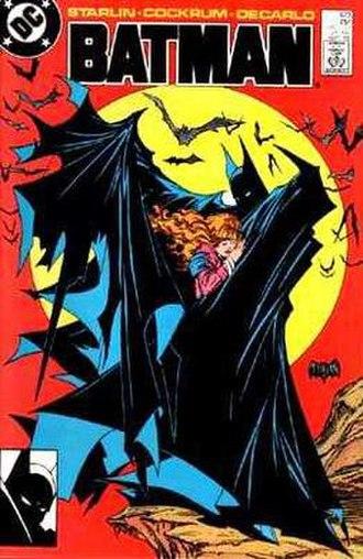 Todd McFarlane - McFarlane's cover for DC's Batman No. 423 (Sept 1988).