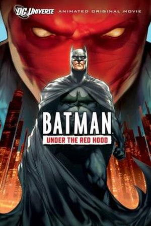 Batman: Under the Red Hood - Home video release poster