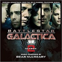 Battlestar Galactica Season 2 soundtrack cover art