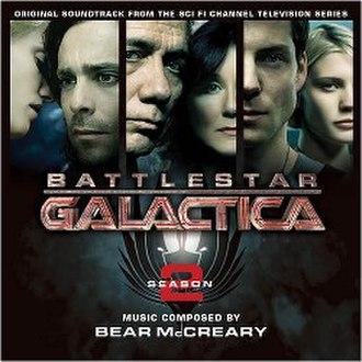 Music of Battlestar Galactica (2004 TV series) - Battlestar Galactica Season 2 soundtrack cover art