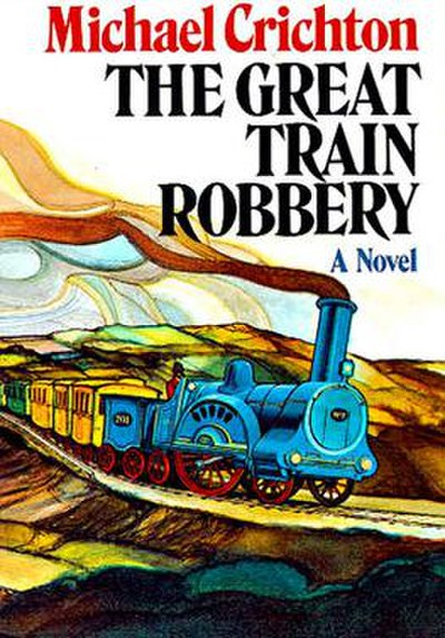 Picture of a book: The Great Train Robbery