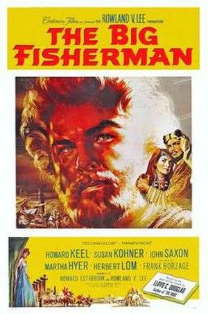 The Big Fisherman - Film poster