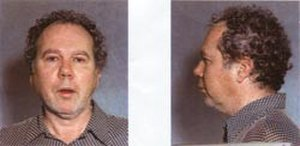 Ted Binion - Mug shots of Ted Binion taken in August 1997.