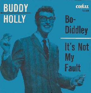 Bo Diddley (song) - Image: Bo Diddley Budddy Holly