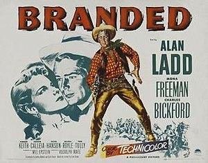 Branded (1950 film) - Image: Branded Film Poster
