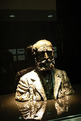 C. P. Scott - Bust of Scott in the offices of The Guardian, London