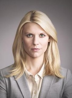 Carrie Mathison fictional character on the American television/drama thriller Homeland