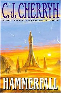 <i>Hammerfall</i> (novel) 2001 novel by C. J. Cherryh