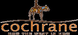 Cochrane, Alberta - Image: Cochrane AB logo