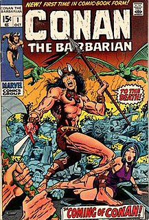 <i>Conan the Barbarian</i> (comics)