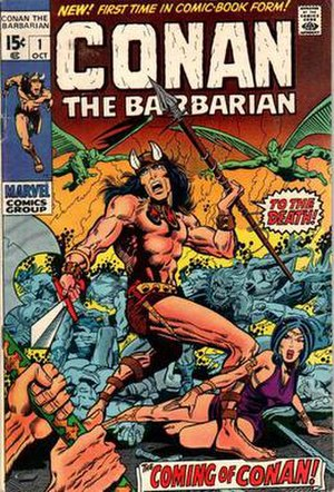 Conan the Barbarian (comics) - Image: Conan 01