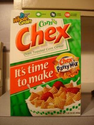 Chex - A box of Corn Chex in 2006