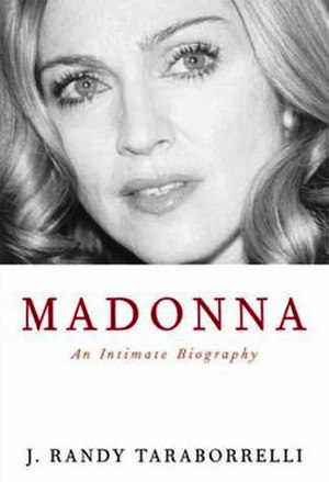 Madonna: An Intimate Biography - Book cover (UK)