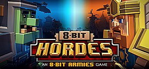 8-Bit Hordes - Image: Cover of the Game 8 bit Hordes by Petroglyph Games