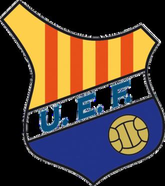 UE Figueres - Image: Crest of Unió Esportiva Figueres